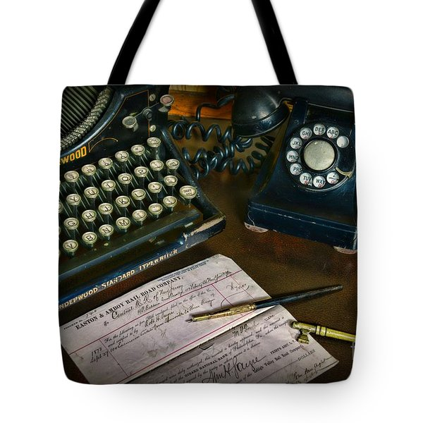 Office Essentials Tote Bag