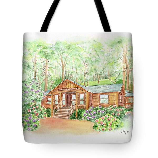Office In The Park Tote Bag