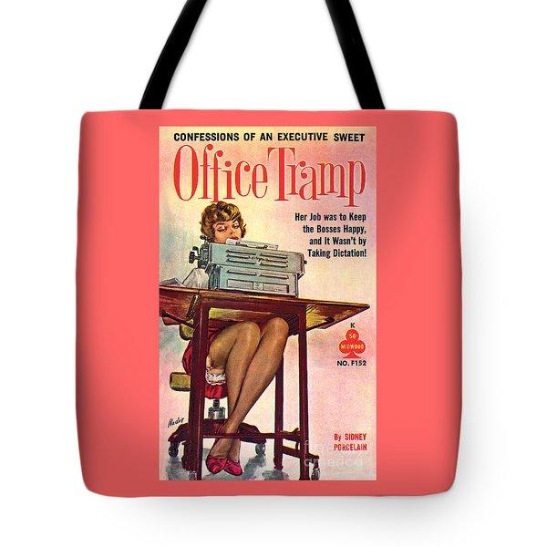 Office Tramp Tote Bag
