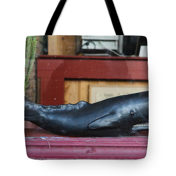 Office Whale Tote Bag
