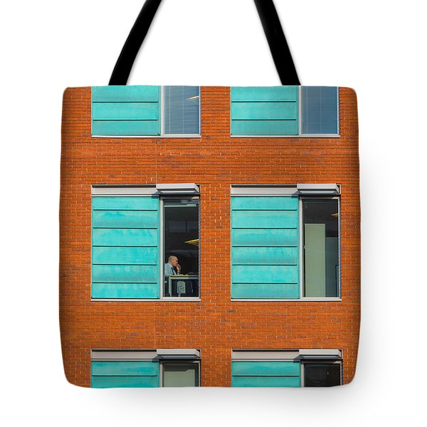 Office Windows Tote Bag