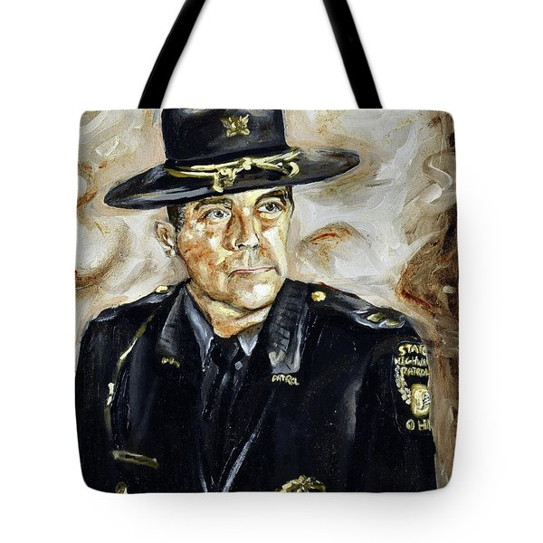 Officer Demaree Tote Bag