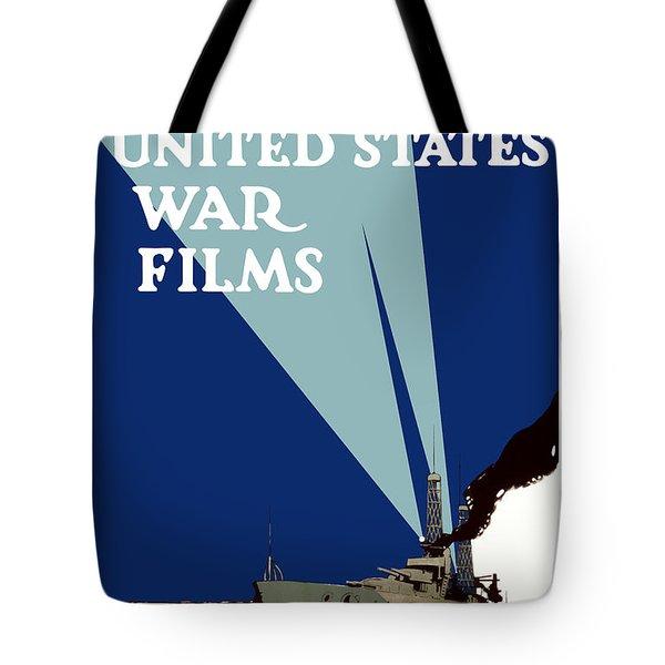 Official United States War Films Tote Bag