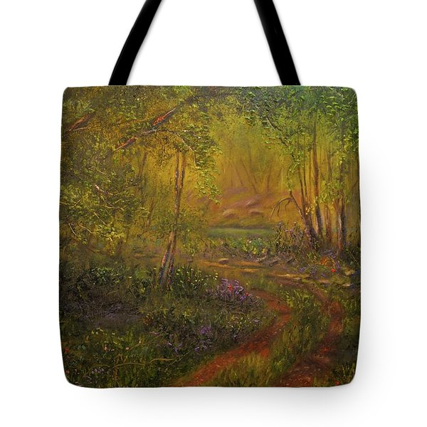 Offroad Drive To The Lake Tote Bag