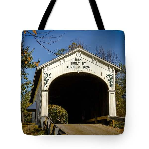 Offutt's Ford Covered Bridge Tote Bag