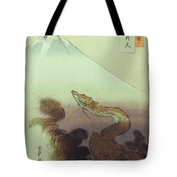 Ogata Gekko Dragon Tote Bag
