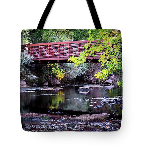 Ogden River Bridge Tote Bag