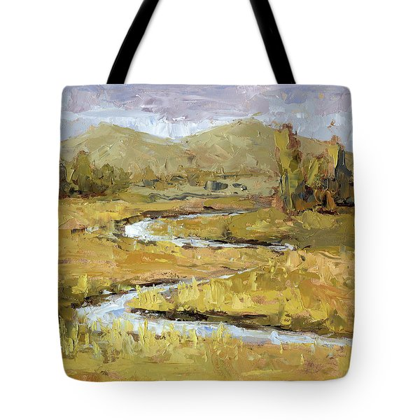 Ogden Valley Marsh Tote Bag