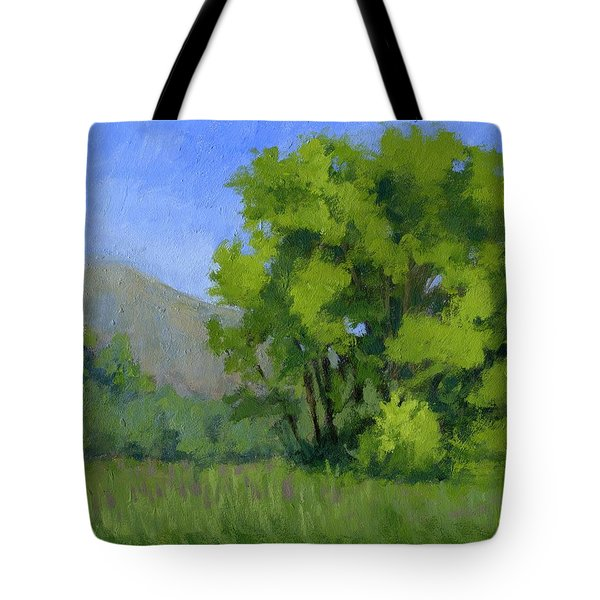 Ogden Valley Meadow Tote Bag