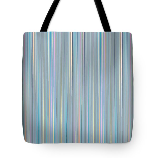 Oh Baby Blue - Stripes Tote Bag