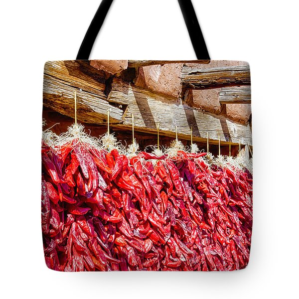 Tote Bag featuring the photograph Oh Chiles by Daniel George