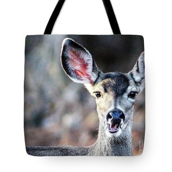Oh, Deer Tote Bag