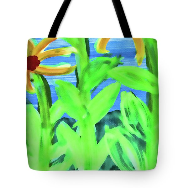 Oh Glorious Day Floral Tote Bag