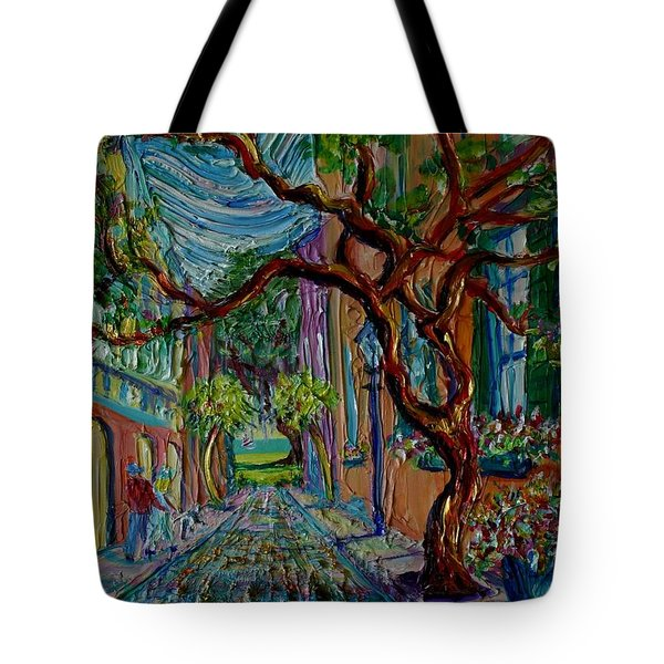 Oh Happy Day Tote Bag by Dorothy Allston Rogers