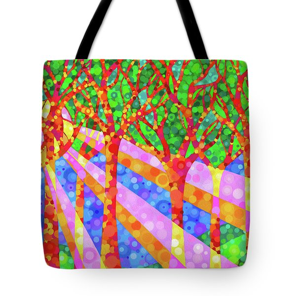 Oh Happy Day Tote Bag by Jennifer Allison