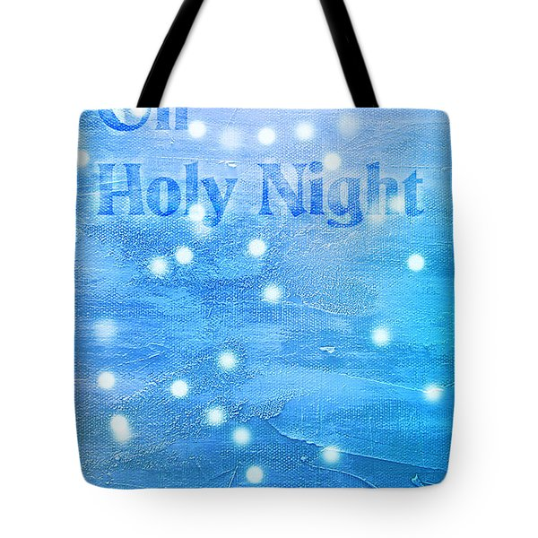 Tote Bag featuring the painting Oh Holy Night by Jocelyn Friis