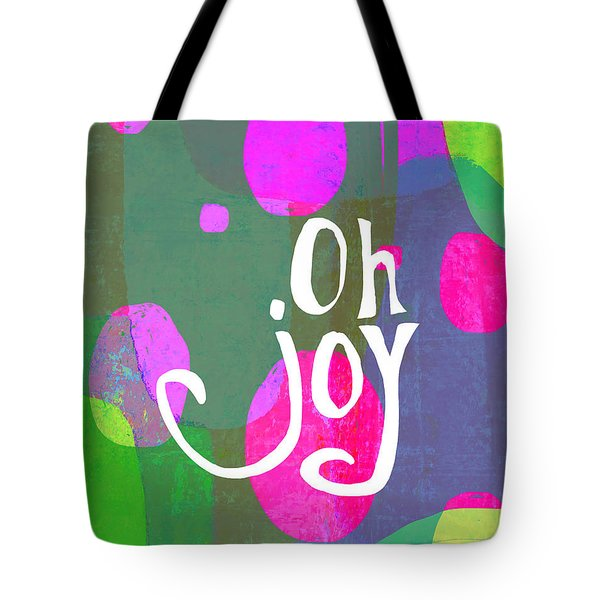 Tote Bag featuring the painting Oh Joy by Lisa Weedn