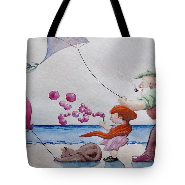 Oh My Bubbles Tote Bag