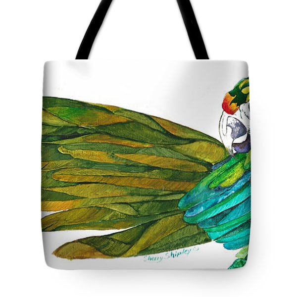 Oh Mya Tote Bag by Sherry Shipley