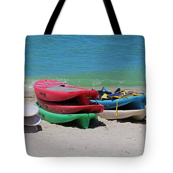 Tote Bag featuring the photograph Oh The Beach Life by Michiale Schneider