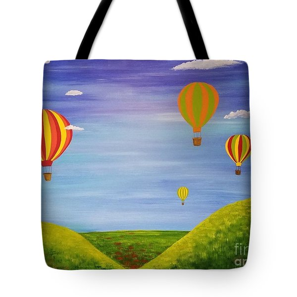 Oh The Places We Will Go Tote Bag