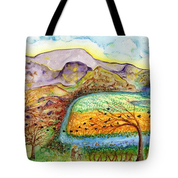 Oh Vincent Tote Bag