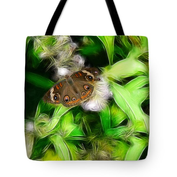 Tote Bag featuring the photograph Ohio Buckeye by EricaMaxine  Price
