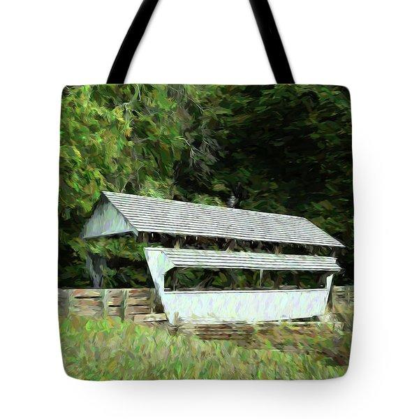 Ohio Covered Bridge Tote Bag