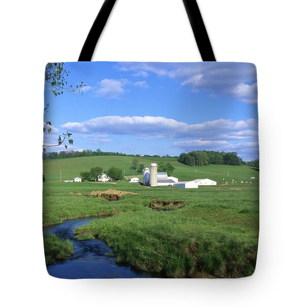 3d203 Ohio Farm Photo Tote Bag