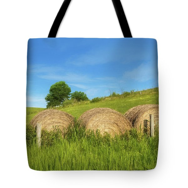 Ohio Landscape In Summer Tote Bag