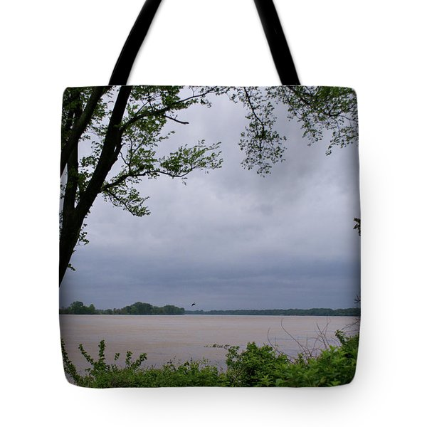 Ohio River Tote Bag by Sandy Keeton