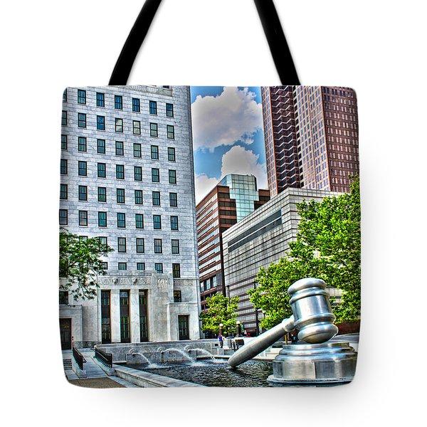 Ohio Supreme Court Tote Bag