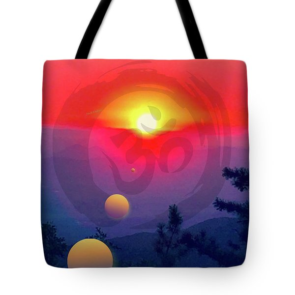 Ohm Tote Bag by Jack Eadon