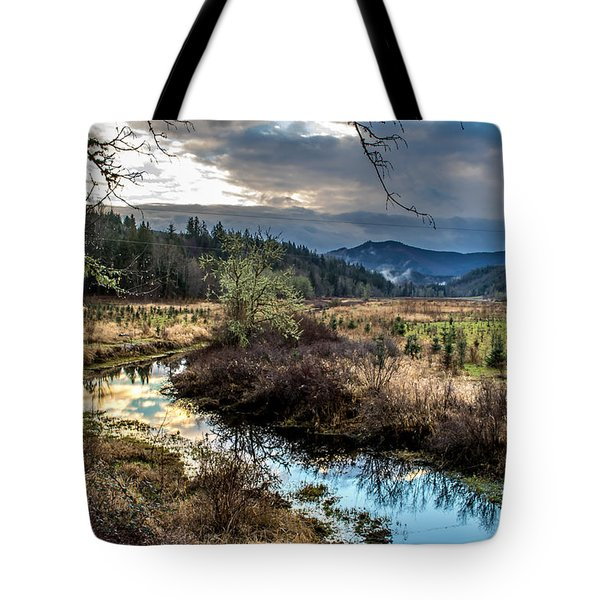 Ohop Creek Tote Bag