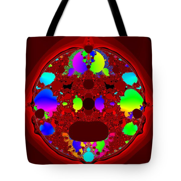 Tote Bag featuring the digital art Oidivoclus by Andrew Kotlinski