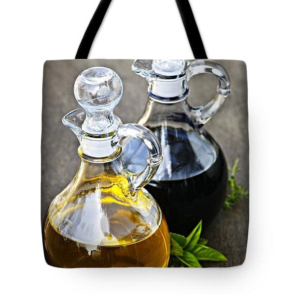 Oil And Vinegar Tote Bag