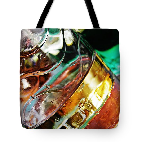 Oil And Water 28 Tote Bag by Sarah Loft