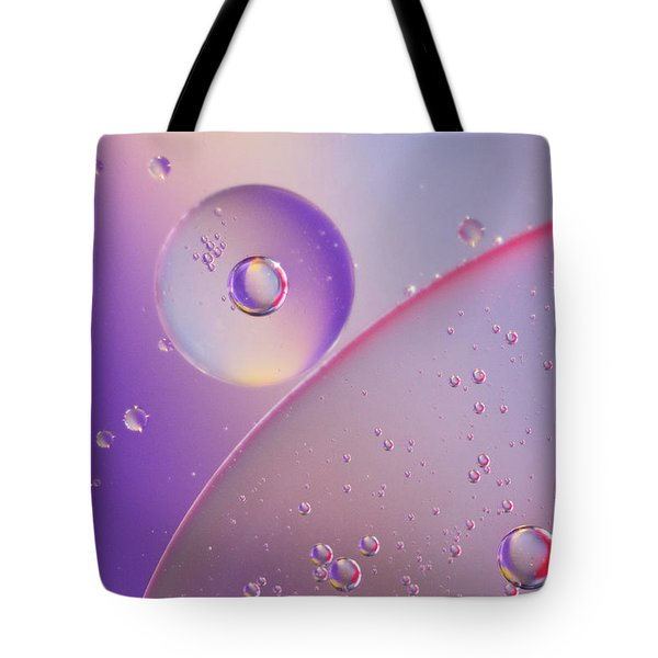 Oil And Water Tote Bag