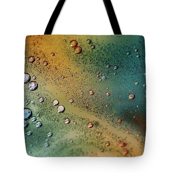 Tote Bag featuring the photograph Oil And Water by Elaine Manley