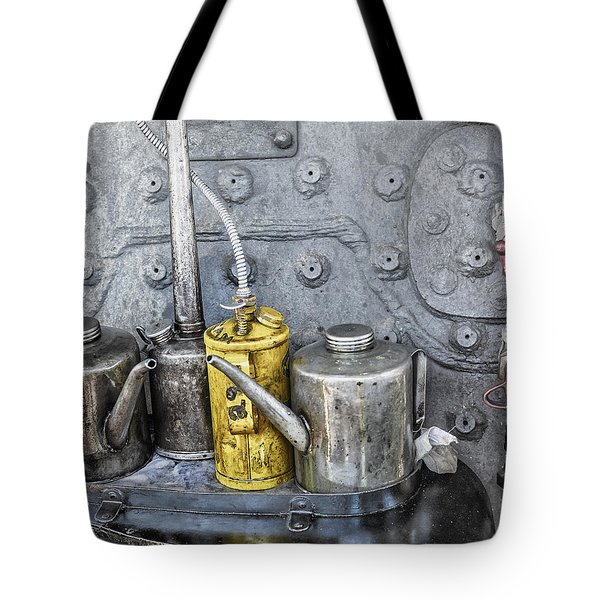 Oil Cans Tote Bag