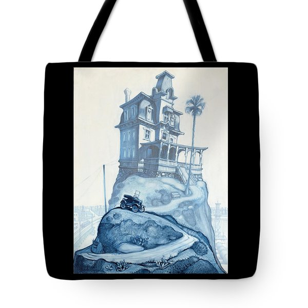 Oil Fields And Orchards Tote Bag