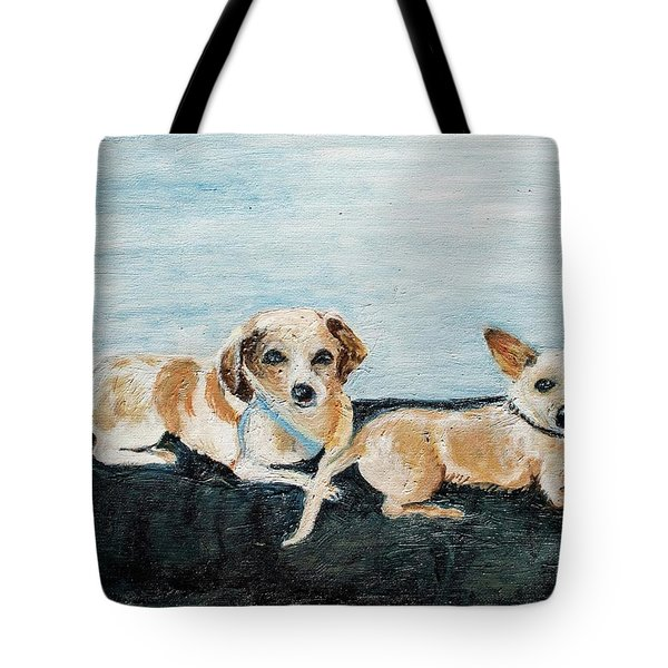 Oil Painting Tote Bag