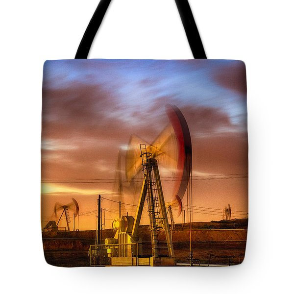 Oil Rig 1 Tote Bag