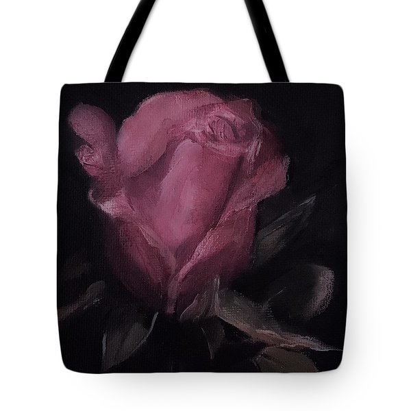 Oil Rose Painting Tote Bag