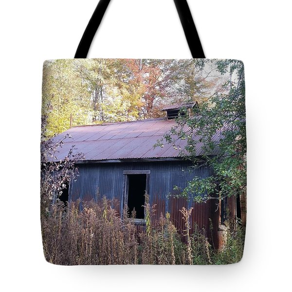 Oil Shed Tote Bag