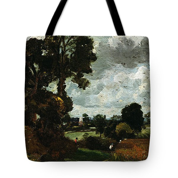 Oil Sketch Of Stoke-by-nayland Tote Bag by John Constable