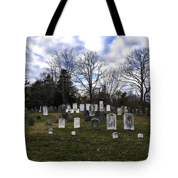 Old Town Cemetery Sandwich, Massachusetts Tote Bag