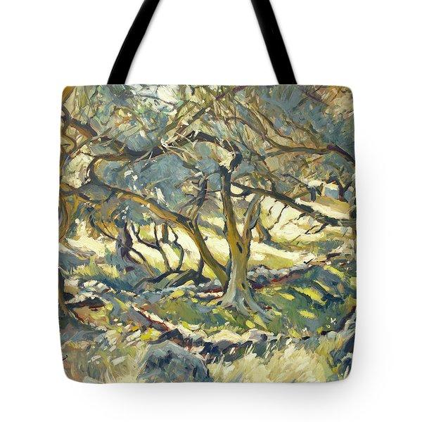 Oilve Grove Marmari Beach Tote Bag