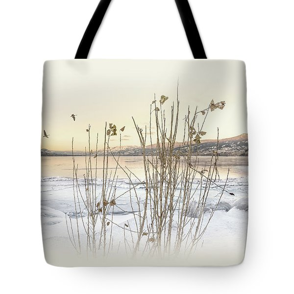 Tote Bag featuring the photograph Okanagan Glod by John Poon