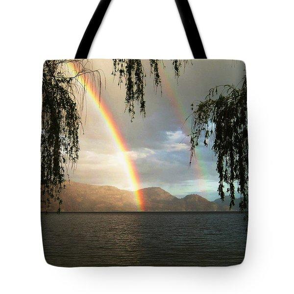 Okanagan Rainbow Tote Bag